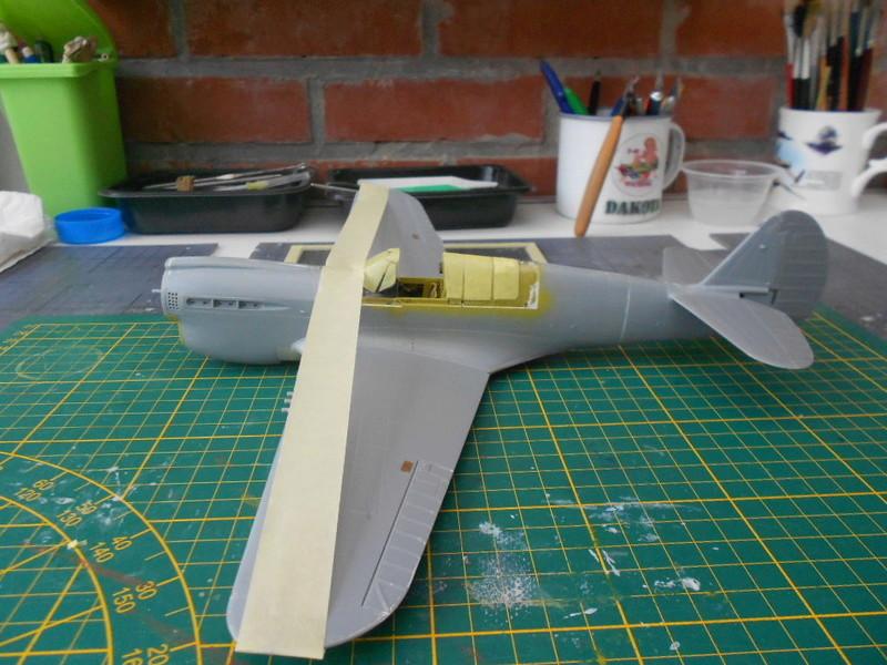 P 40 N.  Warhawk 1/32 Eduard   P40_en13