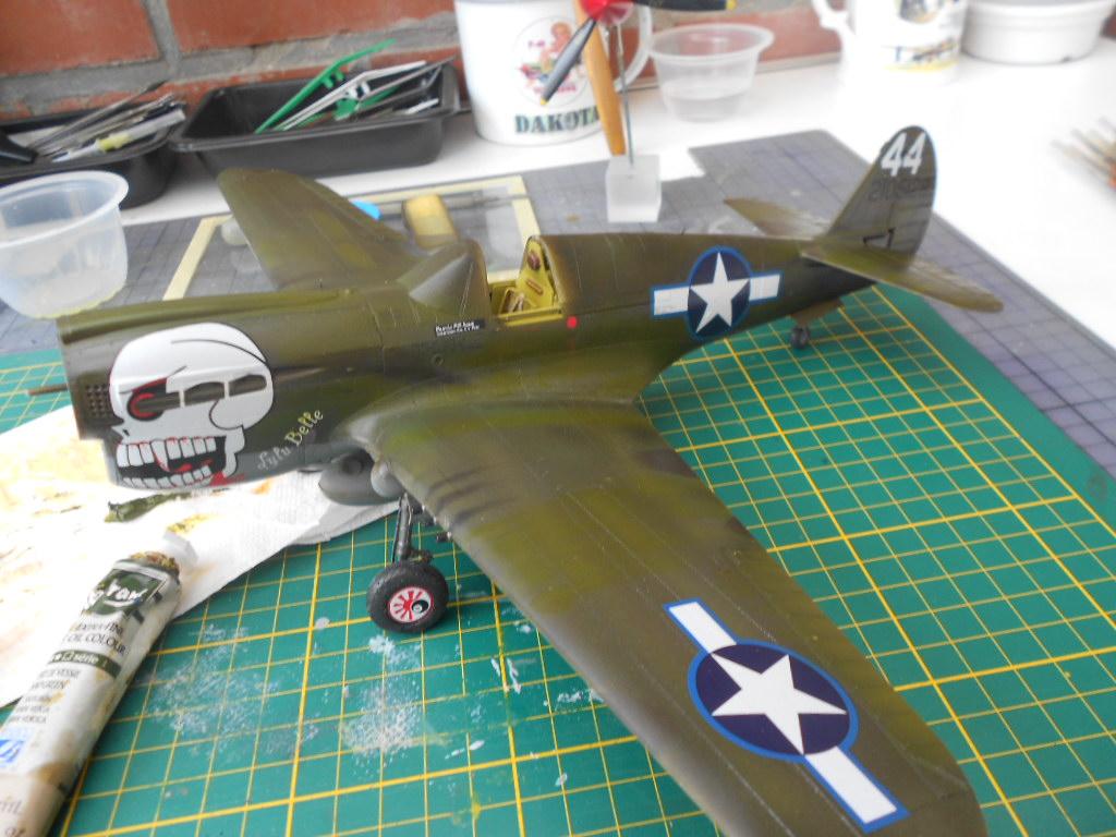 P 40 N.  Warhawk 1/32 Eduard   - Page 2 P40_fi16