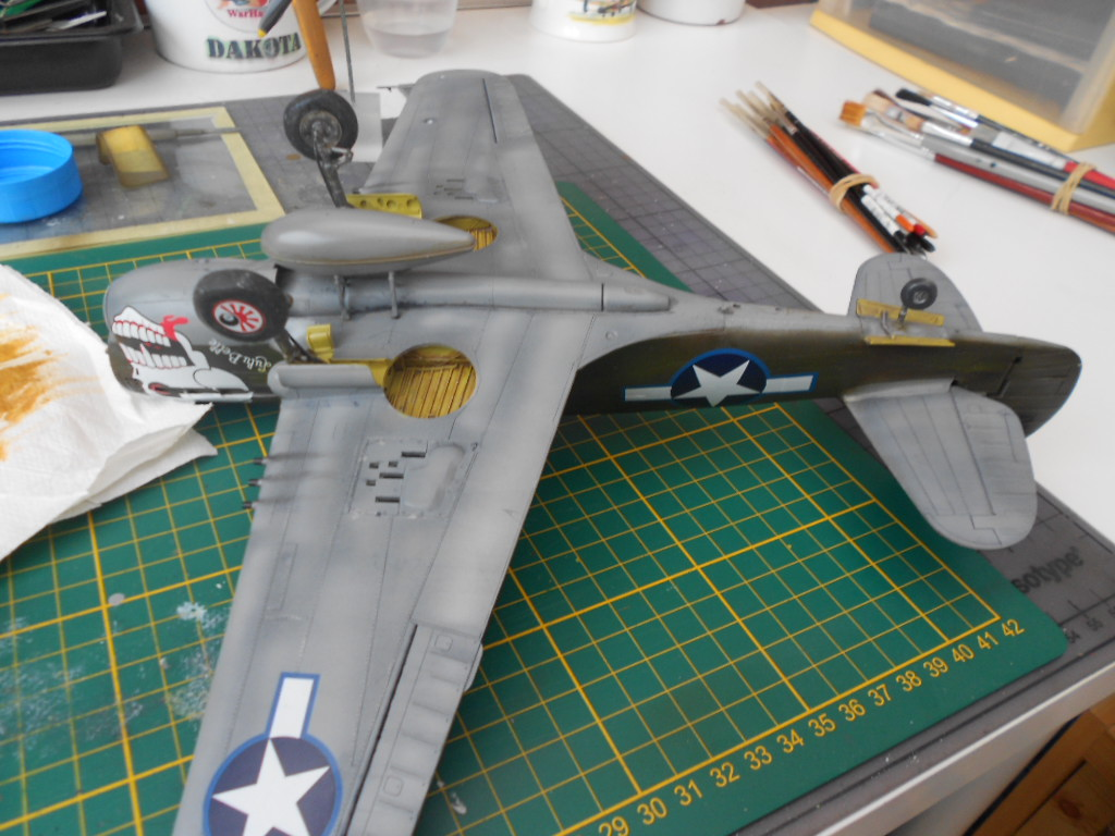 P 40 N.  Warhawk 1/32 Eduard   - Page 2 P40_fi17