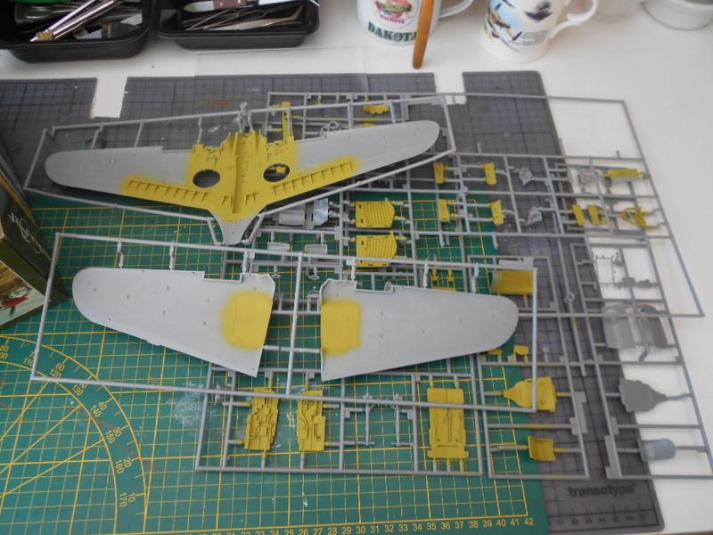 P-40 N Warhawk 1/32 Edouard   P40_un15