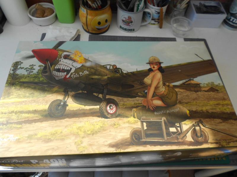 P 40 N.  Warhawk 1/32 Eduard   P_40_l16