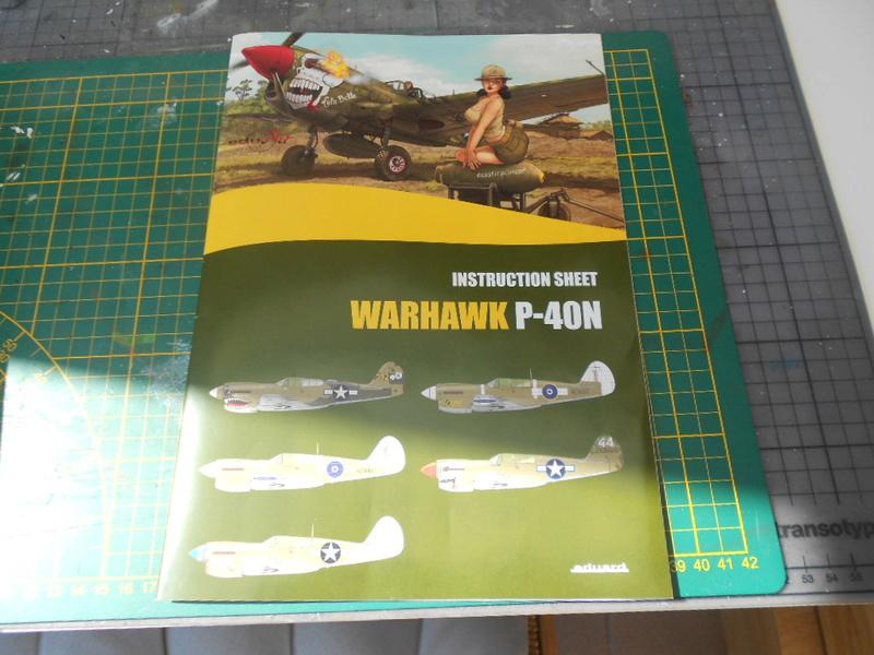 P 40 N.  Warhawk 1/32 Eduard   P_40_l17