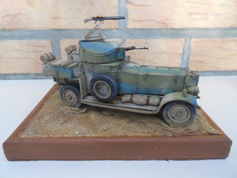 british armoured car pattern 1920 Patter75