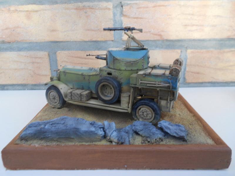 british armoured car pattern 1920 Patter76