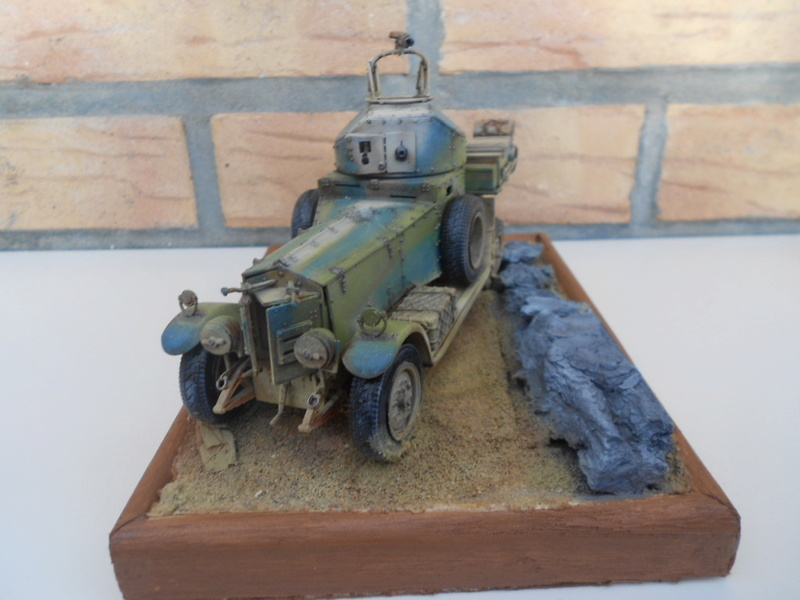 british armoured car pattern 1920 Patter86