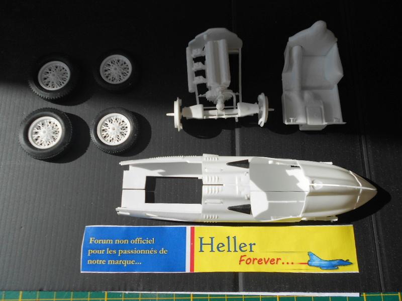 Talbot Lago GP 1/24 Heller  Talbot13