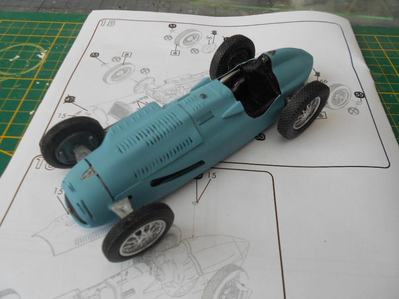 Talbot Lago GP 1/24 Heller  Talbot37