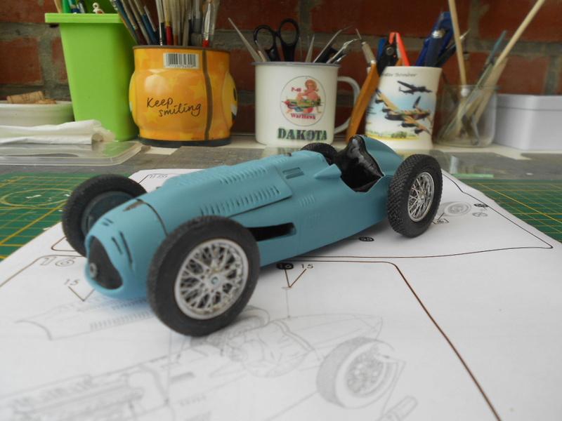 Talbot Lago GP 1/24 Heller  Talbot38
