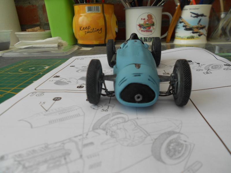 Talbot Lago GP 1/24 Heller  Talbot39