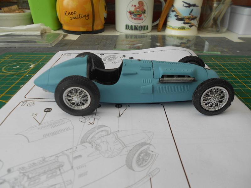 Talbot Lago GP 1/24 Heller  Talbot40