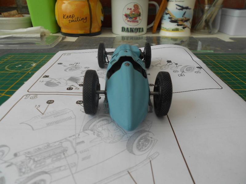 Talbot Lago GP 1/24 Heller  Talbot41