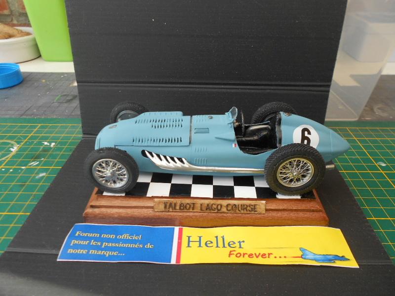 Talbot Lago GP 1/24 Heller  - Page 2 Talbot62
