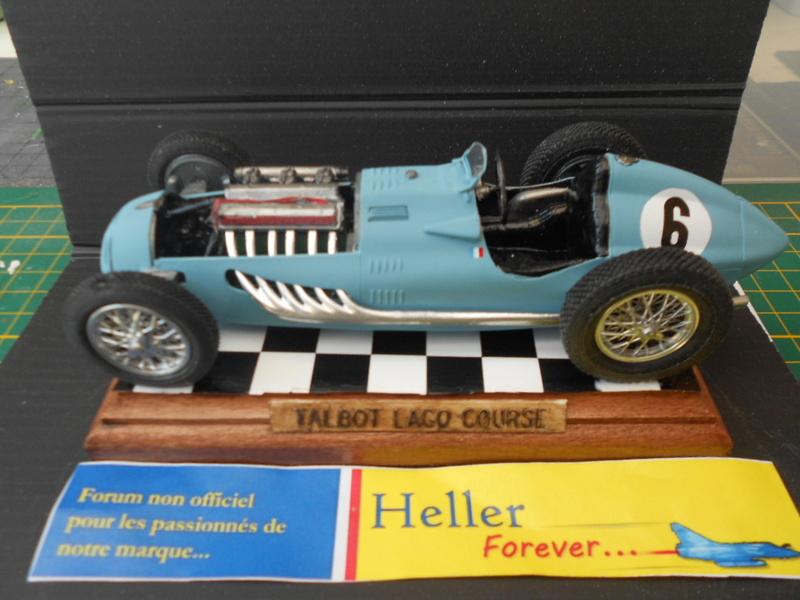 Talbot Lago GP 1/24 Heller  - Page 2 Talbot67