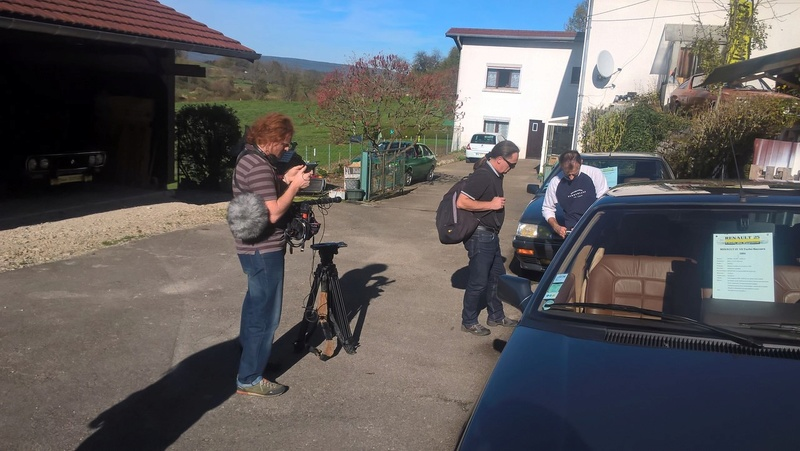 Reportage Youngtimer sur France 3 Wp_20130