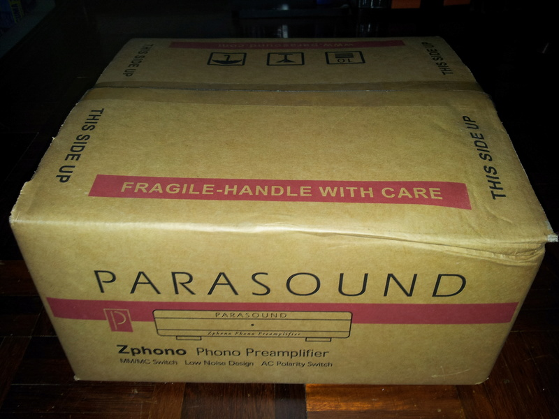 Parasound Zphono phono stage ( sold ) 20180330