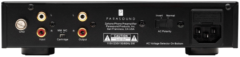 Parasound Zphono phono stage ( sold ) Zphono10