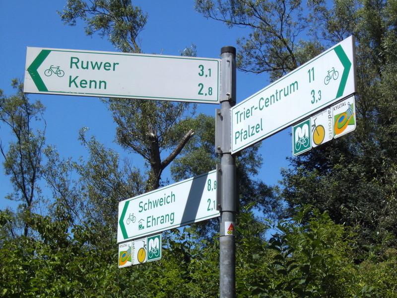 ALLEMAGNE  réseau de vois vertes - les chemins du rail 19_weg11