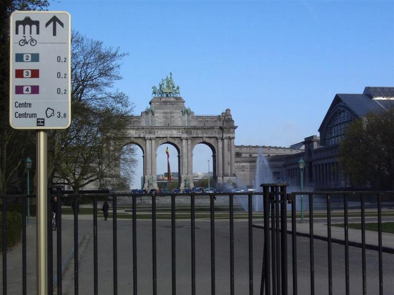 01 Itinéraire N°0 W0 Véloroute des capitales - Partie Bruxelles - La Hulpe (RV10 - EV5) Brusse12