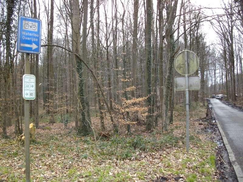 01 Itinéraire N°0 W0 Véloroute des capitales - Partie Bruxelles - La Hulpe (RV10 - EV5) Brusse13
