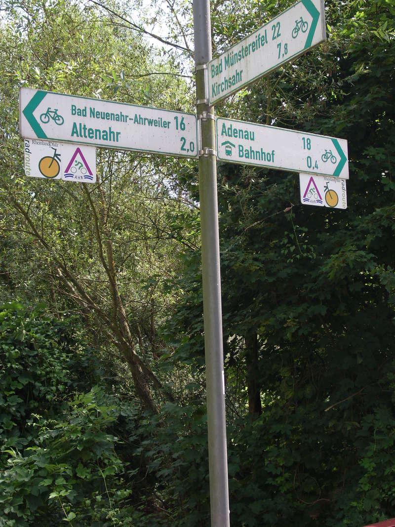 ALLEMAGNE  réseau de vois vertes - les chemins du rail Wegwij11