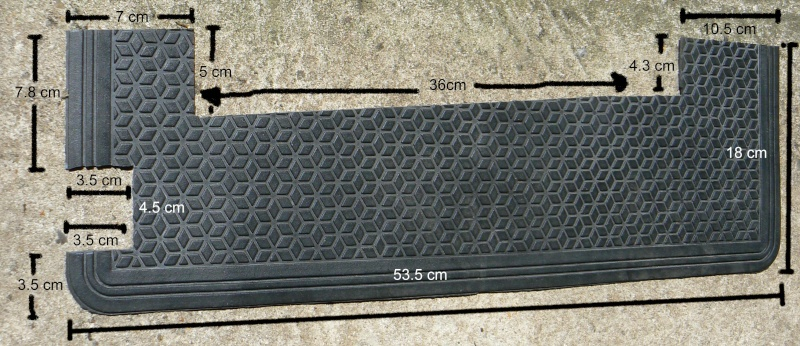 wheel - Wheel arch rubber mat install - EASY Dimens10