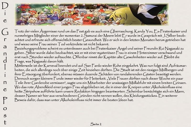 Grandline Post [Ausgaben 2010 / 2011] Zeitun11