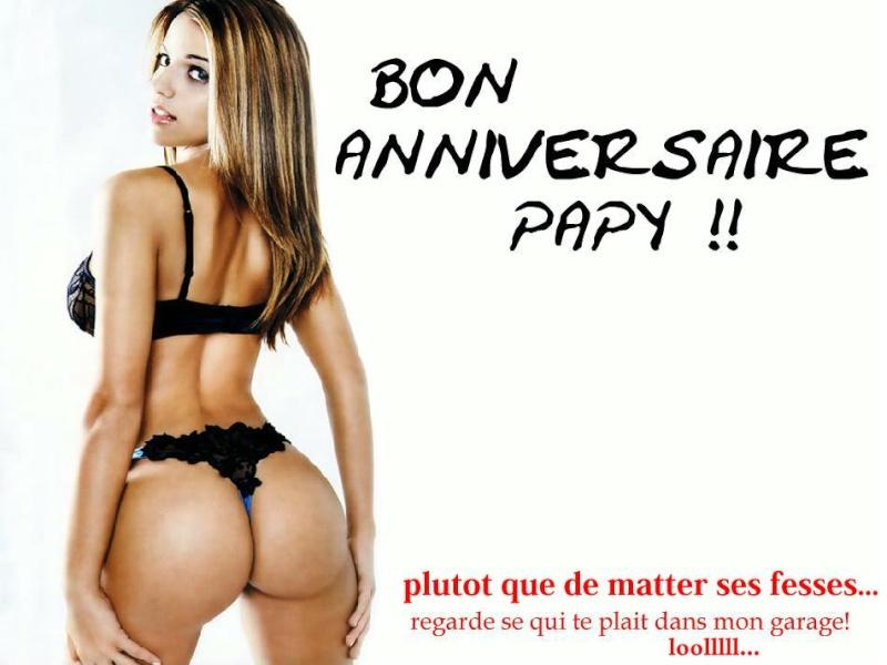 bon anniversaire papy Sexy1011
