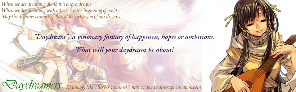 Daydreamers Forum