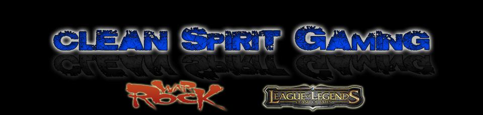 Clean Spirit Gaming Logo_c10