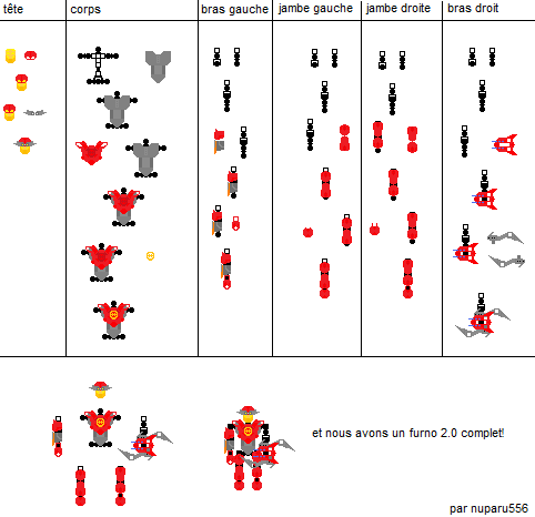 [Fans-arts] how to build Hero Factory 2011 (with paint) Furno_13
