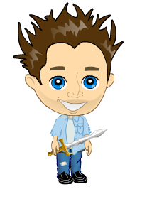 I am Knight Patts, defender of yoville. 612