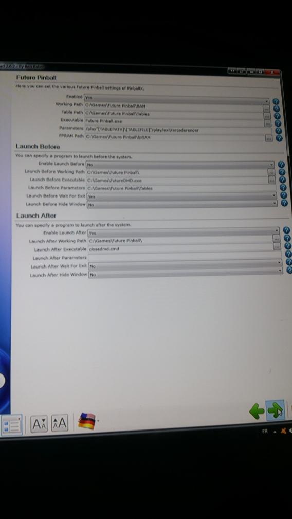 [ARCHIVÉ] Setting PinballX 20171125