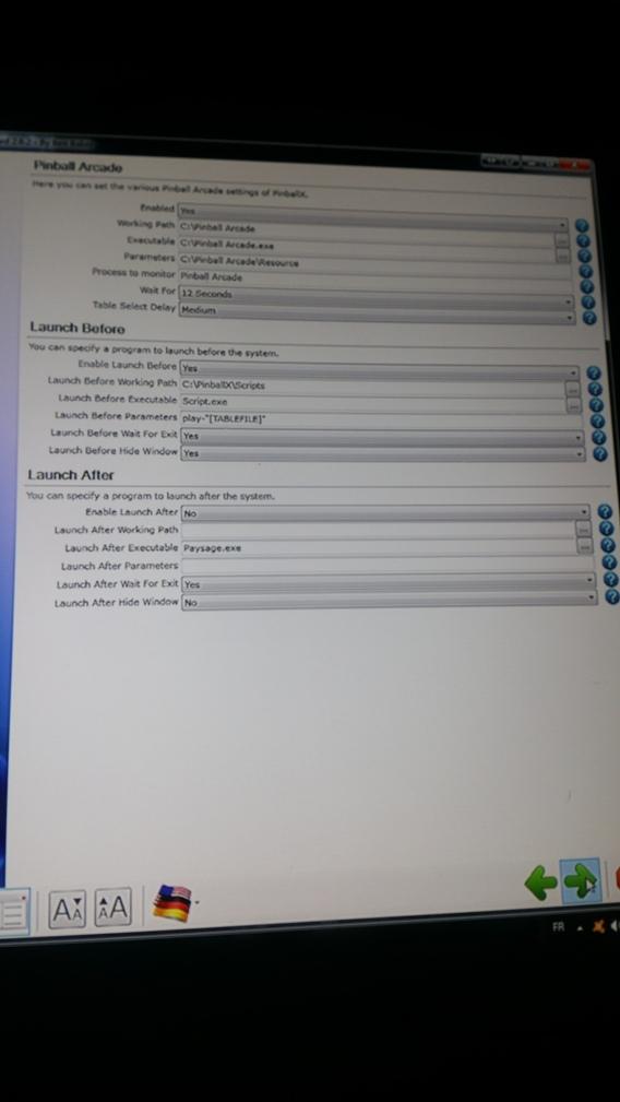 [ARCHIVÉ] Setting PinballX 20171128