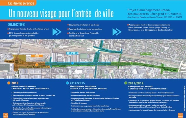 la nouvelle entrée de la ville Entrae11