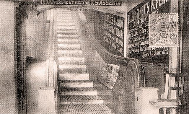 L'escalier roulant du Montmorency Escali11