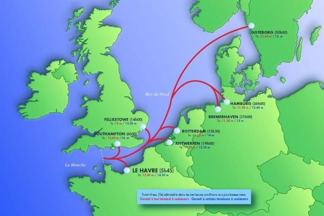Le port du Havre Europe10