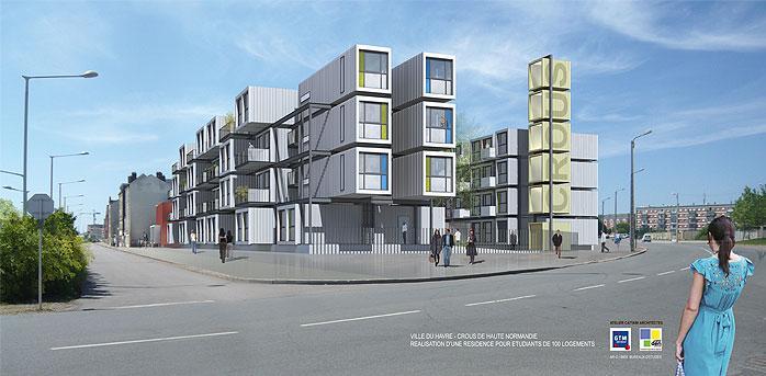 400 logements étudiants en projet sur 3 sites Raside10