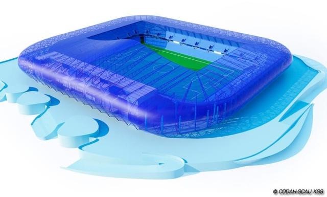 Le grand stade du Havre Stade210