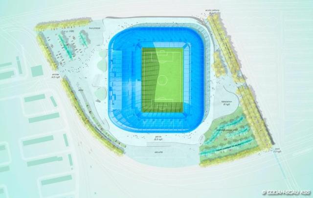 Le grand stade du Havre Stade410