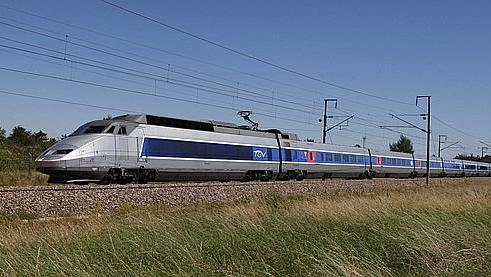 TGV le Havre - Paris Tgv10