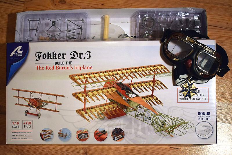 'Strip Down' Fokker DR.I / Artesania Latina, 1:16 Dr_i_011