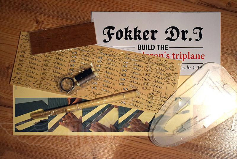 'Strip Down' Fokker DR.I / Artesania Latina, 1:16 Dr_i_014