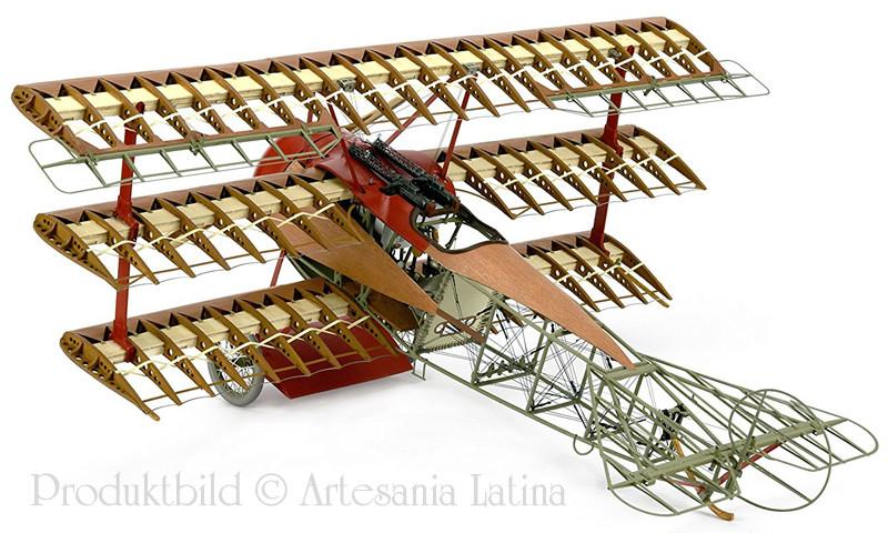 'Strip Down' Fokker DR.I / Artesania Latina, 1:16 Dr_i_017