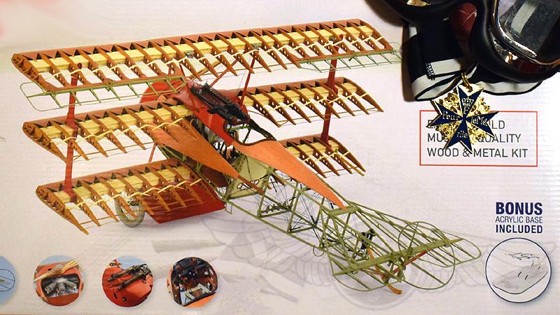 'Strip Down' Fokker DR.I / Artesania Latina, 1:16 Dr_i_023
