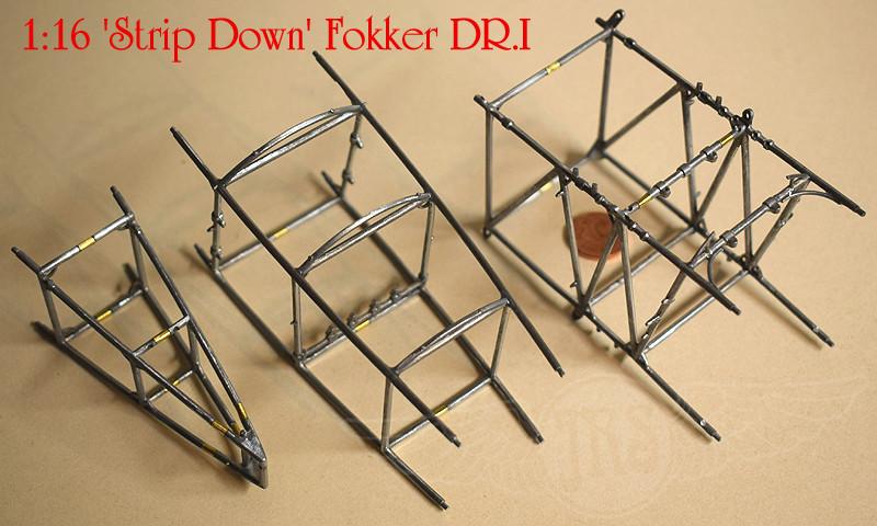 'Strip Down' Fokker DR.I / Artesania Latina, 1:16 Dr_i_025