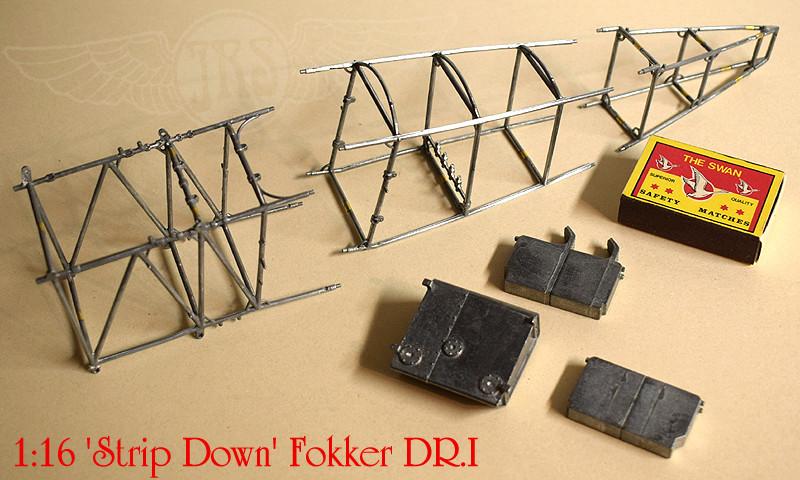 'Strip Down' Fokker DR.I / Artesania Latina, 1:16 Dr_i_026
