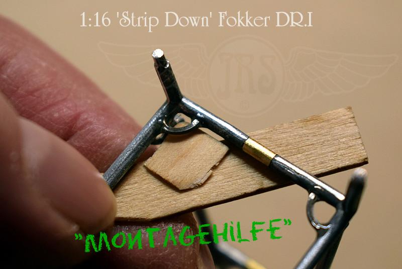 'Strip Down' Fokker DR.I / Artesania Latina, 1:16 Dr_i_030