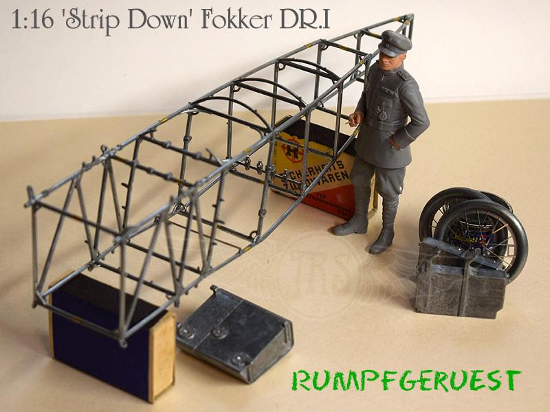 'Strip Down' Fokker DR.I / Artesania Latina, 1:16 Dr_i_038