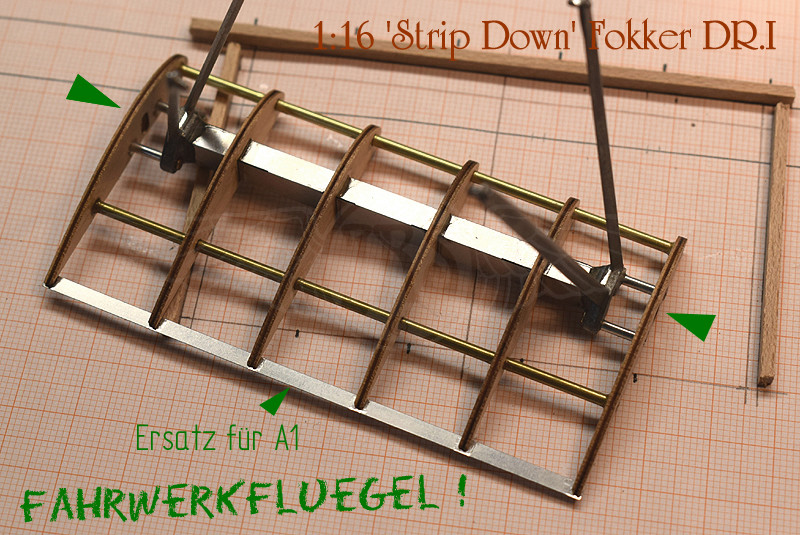 'Strip Down' Fokker DR.I / Artesania Latina, 1:16 Dr_i_044