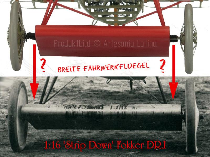 'Strip Down' Fokker DR.I / Artesania Latina, 1:16 Dr_i_074